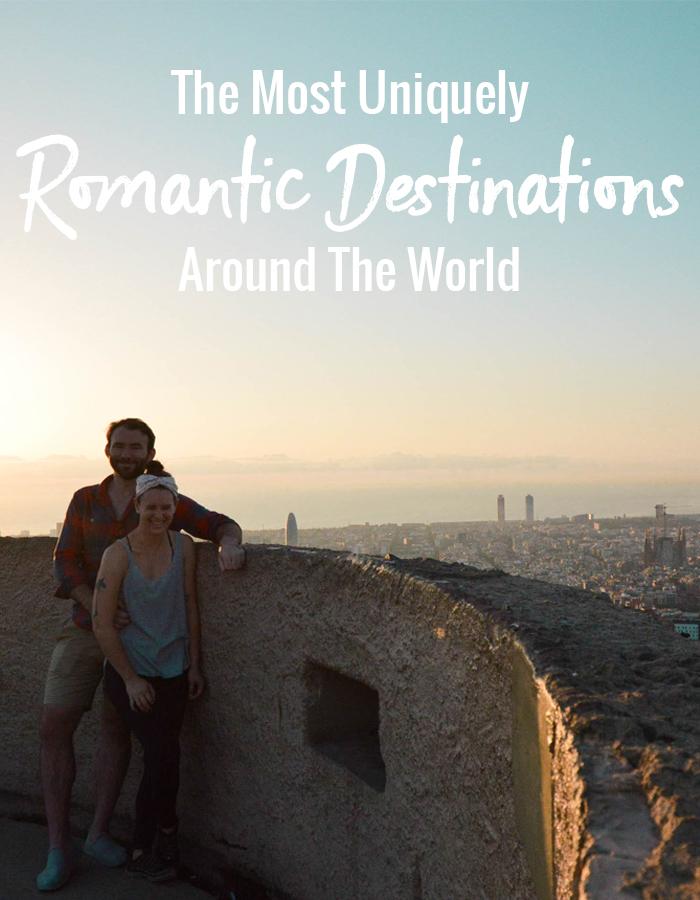 The Most Uniquely Romantic Destinations Around The World
