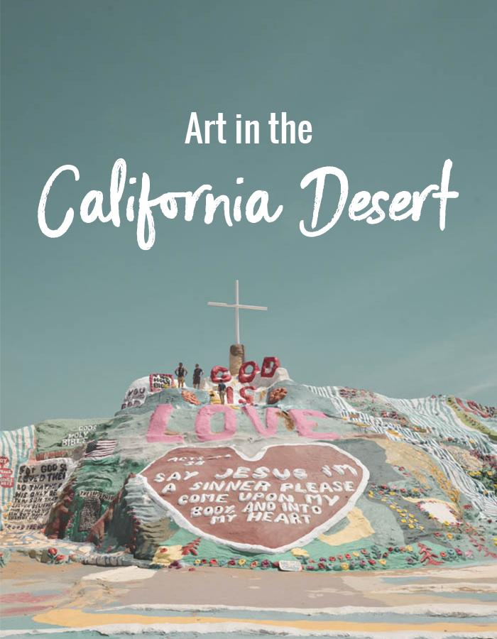 Art in the California Desert