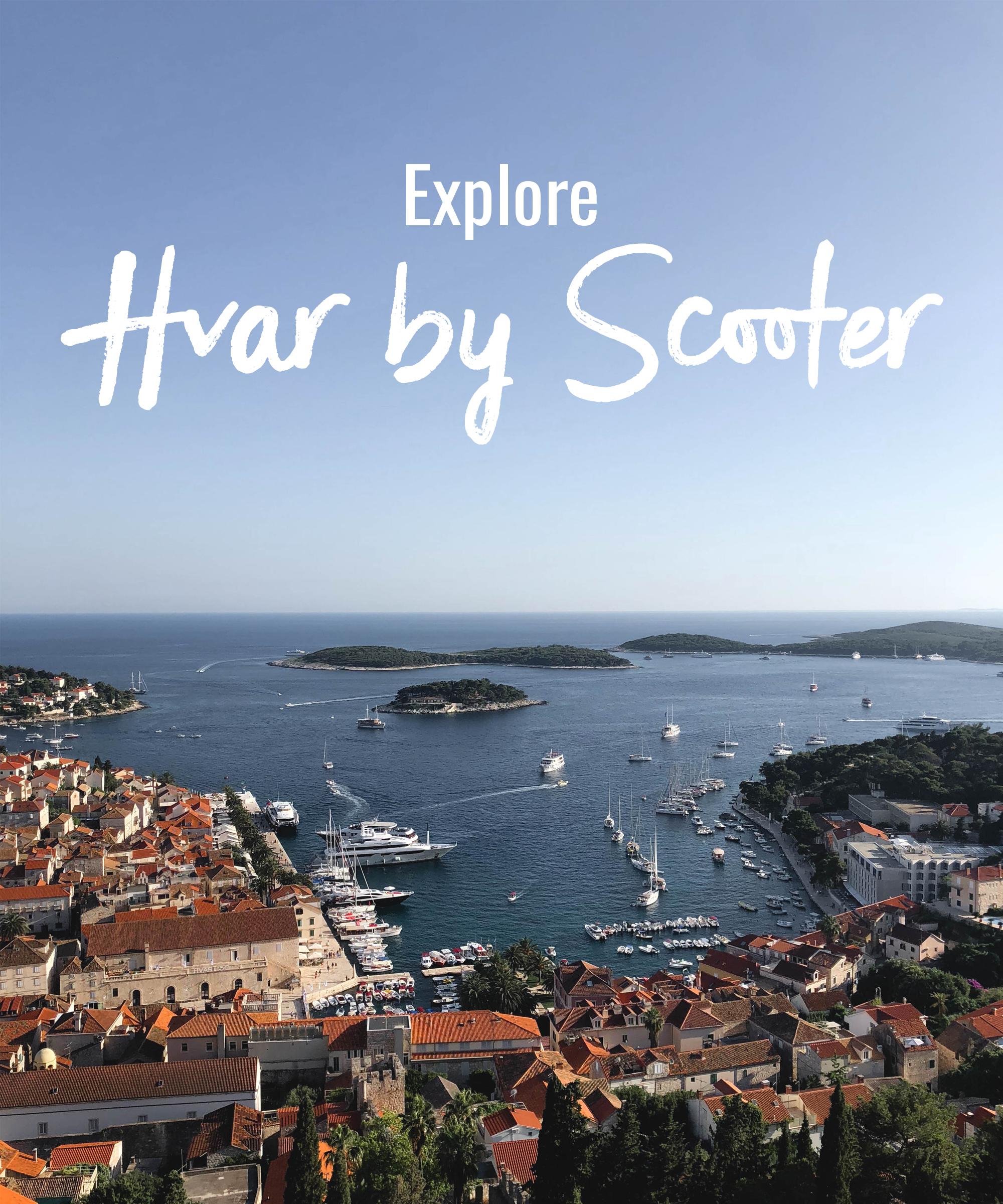 Explore Hvar by Scooter